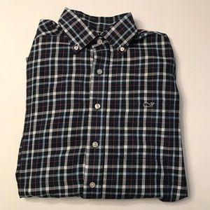 Vineyard Vines Classic Tucker Shirt Plaid Button